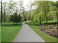 TQ8353 : Path through Leeds Castle Grounds by Paul Gillett