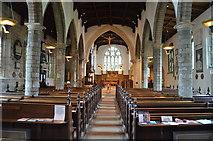 SE5952 : Interior, St Olave's church, York by Julian P Guffogg
