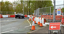 J3673 : Roadworks, Grand Parade, Belfast (April 2014) by Albert Bridge
