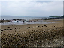C3123 : The beach at Mill Bay, Inch Island by Kenneth  Allen