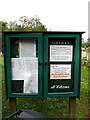 TM4192 : St.Mary's Church Notice Board by Adrian Cable