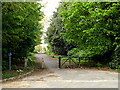TM4192 : Footpath to Rectory Road by Geographer