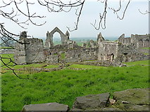 SJ5415 : Haughmond Abbey from the east by Richard Law