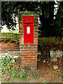 TM3894 : The Church Victorian Postbox by Adrian Cable