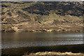 NC3732 : Creag an Sgamhlainn seen over Loch Merkland by Trevor Littlewood
