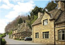 SE2768 : Cottages near Fountains Abbey by Derek Harper