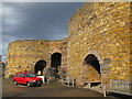 NU2328 : Lime Kiln, Beadnell Harbour by N Chadwick