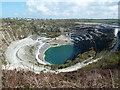 SX0783 : Delabole slate quarry by Chris Allen