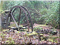SW7936 : Enys Gardens - waterwheel by Chris Allen