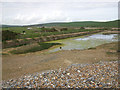 TV5197 : Tank traps at Cuckmere Haven by Andrew Diack