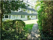 TL4557 : The flats at Highsett, Cambridge by Julian Paren