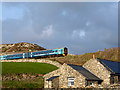 SH5606 : The 19:01 Arriva Trains Wales service from Barmouth to Machynlleth by John Lucas