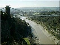 ST5673 : Clifton Suspension Bridge& River Avon by Clint Mann