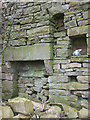 SD7286 : Fireplace in ruin on Green Rigg, Dentdale by Karl and Ali