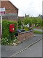 SK7436 : Granby postbox ref NG13 328 by Alan Murray-Rust