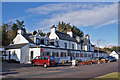 NG9040 : Lochcarron Hotel by Richard Dorrell