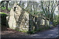 SW7537 : Kennall Vale gunpowder works - packing shed by Chris Allen