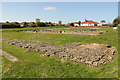 TG5112 : Caister Roman Fort by Richard Croft
