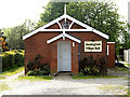 TM4384 : Shadingfield Village Hall by Adrian Cable
