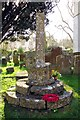 SP4711 : The remains of the cross in St Bartholomew's Churchyard by Steve Daniels