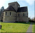 ST8449 : East side of Holy Trinity Church, Dilton Marsh by Jaggery