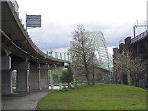 SJ5183 : The Runcorn bridge by Bikeboy