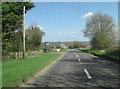 SP2125 : A436 on Oddington Hill by Stuart Logan