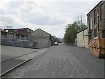 SE0641 : Pitt Street - looking towards Low Mill Lane by Betty Longbottom