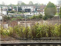 SJ8297 : Road and Rail at Cornbrook by Gerald England