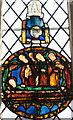 TQ9434 : Stained glass window, All Saints' church, Woodchurch by Julian P Guffogg