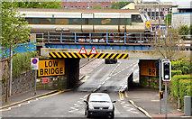 J2664 : Antrim Street railway bridge, Lisburn (May 2014) by Albert Bridge