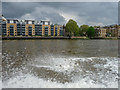 TQ3480 : Riverside Apartments, Wapping, London by Christine Matthews