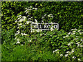 TM4693 : Mill Road sign by Geographer