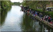SK5803 : Crowds at the Leicester Rowing Regatta by Mat Fascione