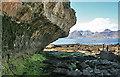 NM4689 : Rock Overhang by Anne Burgess