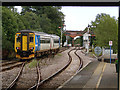 TG4102 : A Lowestoft bound train departing from Reedham by John Lucas