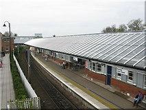 NT9953 : Berwick-upon-Tweed Railway Station by G Laird