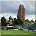 ST2224 : Taunton: a new scoreboard at The County Ground by John Sutton
