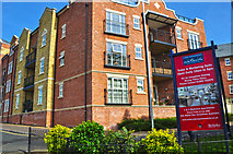 SO8453 : Worcester : The Waterside Apartments by Lewis Clarke