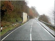 NN0826 : A85 Alongside Loch Awe by David Dixon