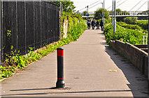 SO8453 : Worcester : Footpath by Lewis Clarke