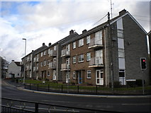 SK5845 : Flats at the bottom of Church Street, Arnold by Richard Vince