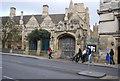 SP5206 : Magdalen College Gateway by N Chadwick