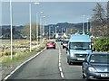 NR8686 : A83 Approaching Lochgilphead by David Dixon