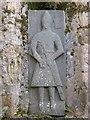 NR4550 : Knight's Effigy tomb slab, Kildalton Church by Rob Farrow