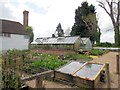 TQ8125 : Nursery Garden and Greenhouse, Great Dixter by Paul Gillett