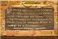 TA0705 : Waggoner's Rest notice by Richard Croft