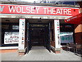 TM1544 : The New Wolsey Theatre (close up) by Hamish Griffin