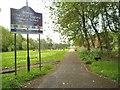SO9396 : C of E School Path by Gordon Griffiths