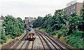 TQ2475 : Windsor Lines to Waterloo, east of Putney, 1991 by Ben Brooksbank